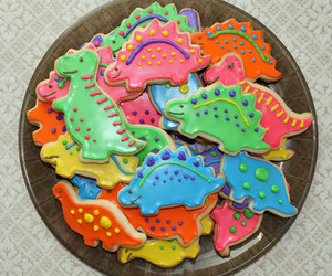 Cookies, dinosaur, and food image