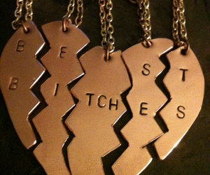 bitch and necklace image