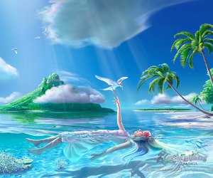 water and fantasy image