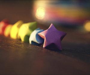 stars and rainbow image