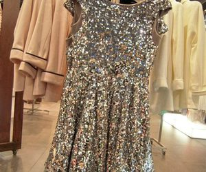 dress, style, and sparkle image