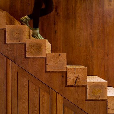 wood and stairs image