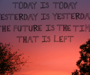 quote, future, and sky image