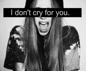 girl, cry, and black and white image