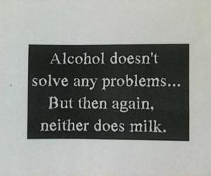 alcohol, b&w, and drugs image