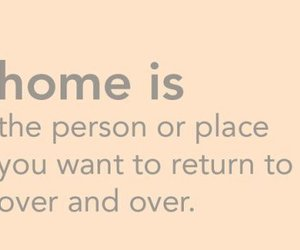 home, quotes, and text image