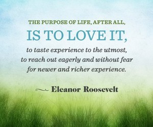 eleanor roosevelt, love, and life image