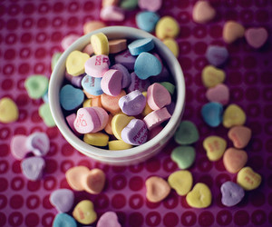 emotion, candy, and candy hearts image