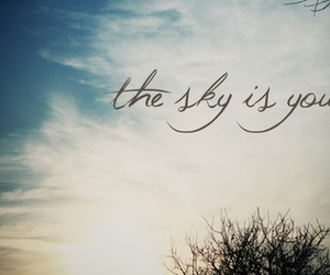 lovely, sky, and typography image