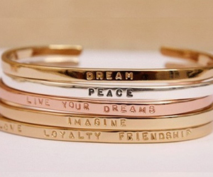 Dream, peace, and bracelet image