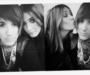 couple, oliver sykes, and amanda hendrick image