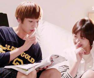 sulli and lee hyun woo image