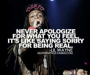 quote, lil wayne, and real image