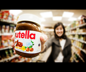 nutella and smile image