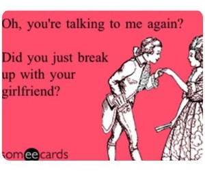 break up, girlfriend, and text image