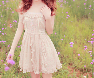 *-*, dress, and heart image