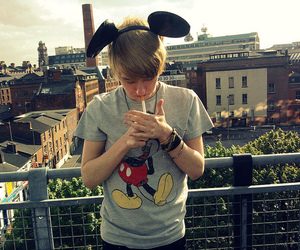 boy, cute, and mickey image
