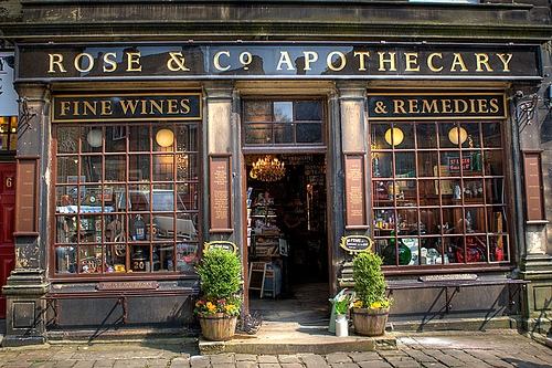 apothecary and england image