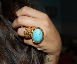 ring, YSL, and tattoo image