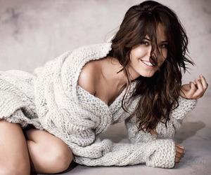 beautiful, brunette, and odette yustman image