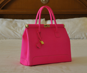 fashion, lovely, and pink bag image