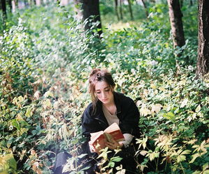 book, earth, and girl image
