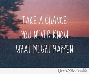 quotes, chance, and text image