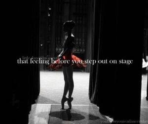 dance, stage, and ballet image