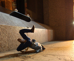 hurt, skateboard, and light image
