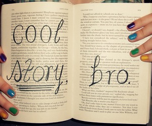 book, bro, and cool image