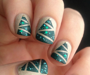 nails, beautiful, and pretty image