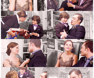 chair, chuck and blair, and the end image