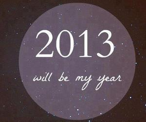 2013, year, and new year image