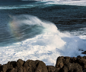 azores, surf, and water image