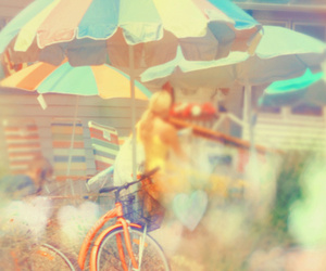 summer, bike, and photography image