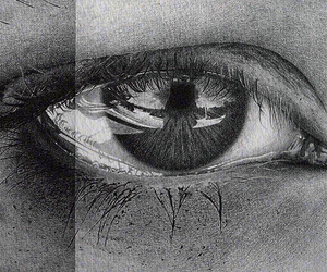 drawing and eyes image