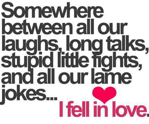 love, quotes, and laugh image