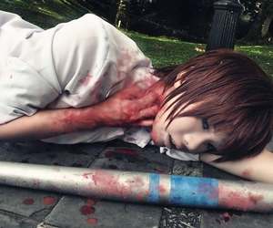 cosplay and higurashi no naku koro ni image