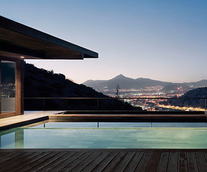 pool and house image