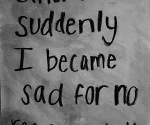 sad, quotes, and text image