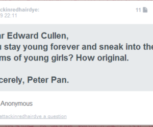 peter pan and edward cullen image