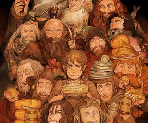 hobbit, the hobbit, and book image