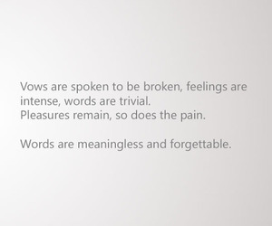 feelings, meaningless, and quote image