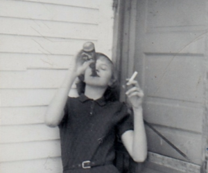 vintage, drunk, and drinking image