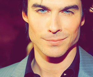 ian somerhalder, eyes, and damon image