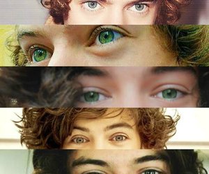 eyes, Harry Styles, and one direction image