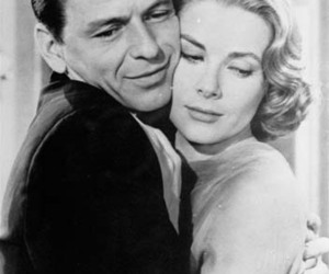 black and white, frank sinatra, and grace kelly image