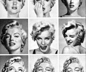 black and white and marlyn monroe image