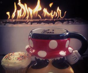 coffe, cup cake, and disney image