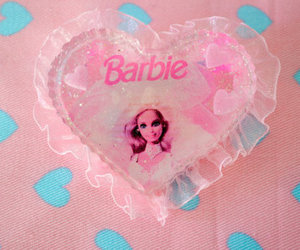 barbie, pink, and cute image